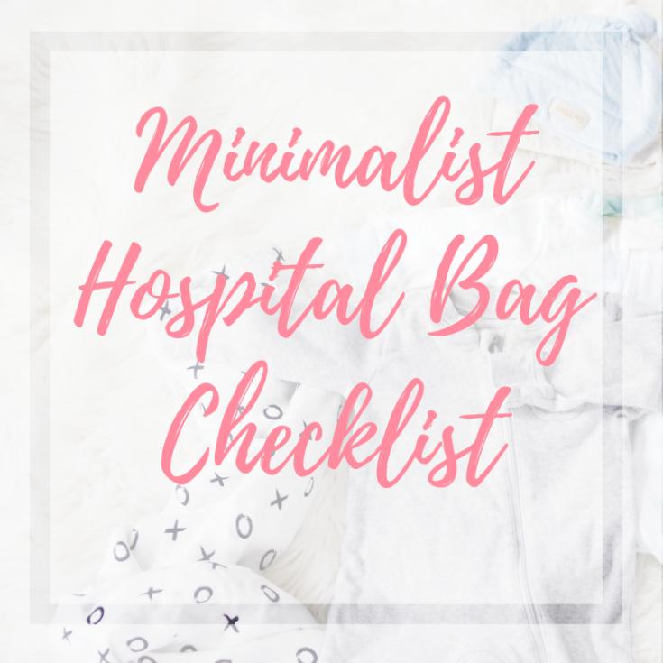 newborn baby checklist for hospital