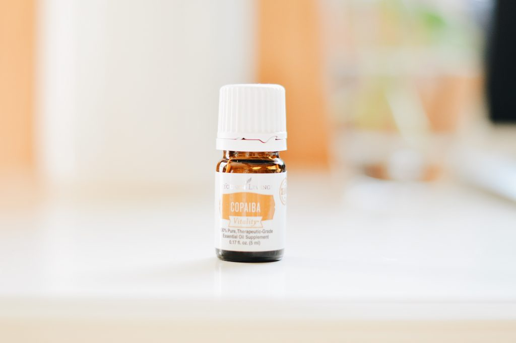 A small bottle of Essential oil