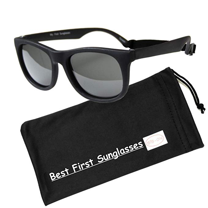 Baby sunglasses and carrying case