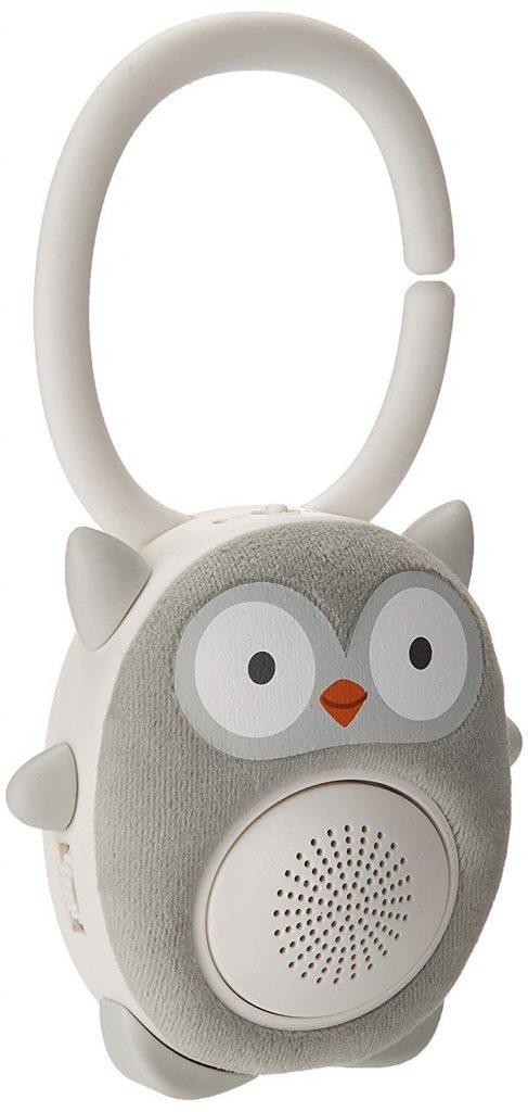 Image of Soundbub sound machine and Bluetooth speaker shaped like an owl