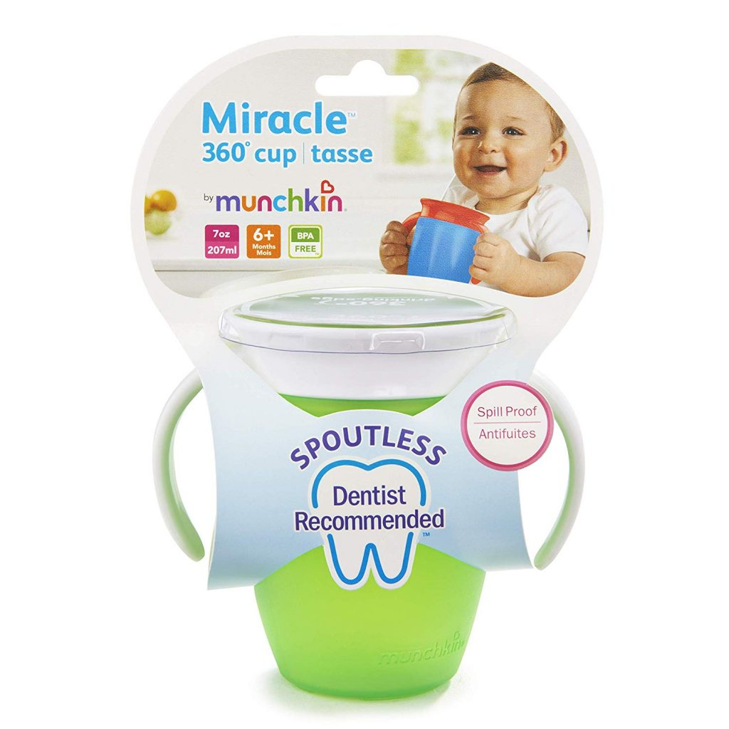 Munchkin miracle cup and packaging
