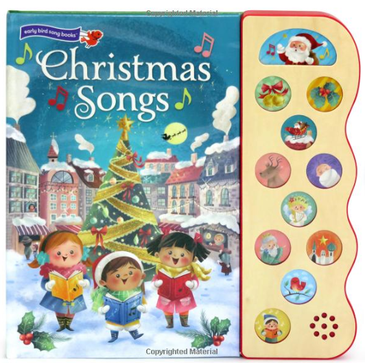 Christmas Songs children's musical book for starting new Christmas Traditions