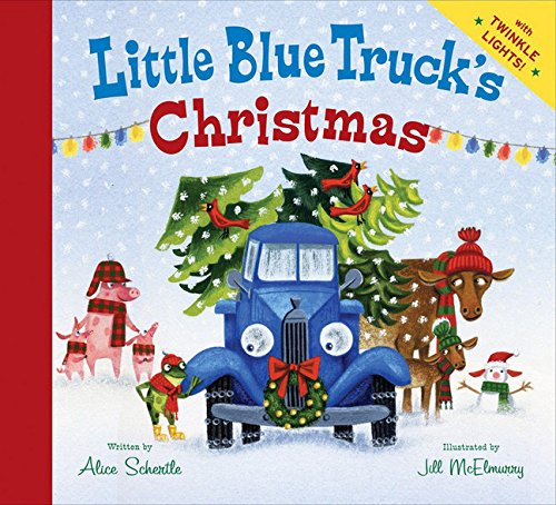 Little Blue Truck's Christmas cover page for christmas eve box